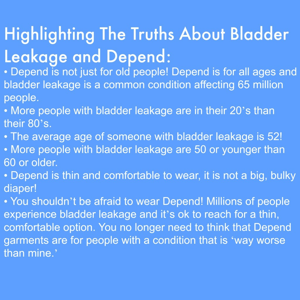 Depend- Full disclosure this article is financially supported by Depend