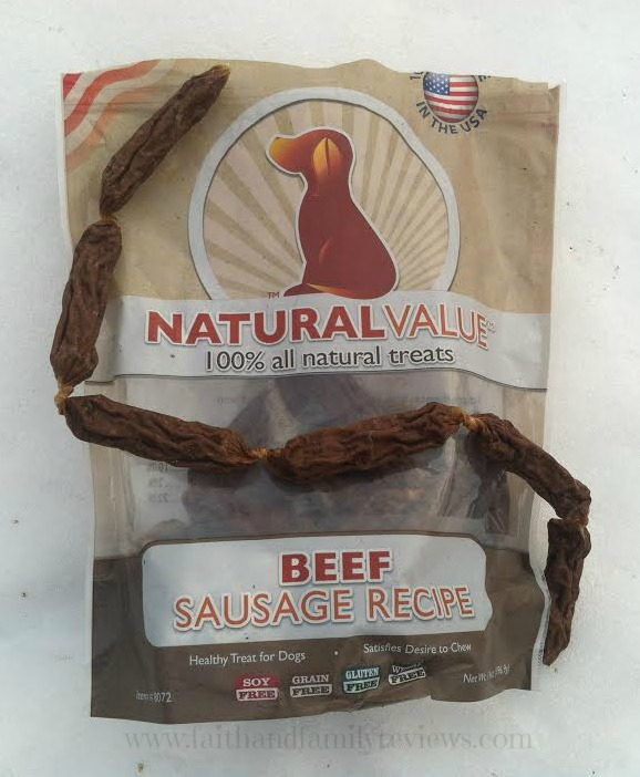 FFR Loving Pets Dog Treats_Beef Sausage