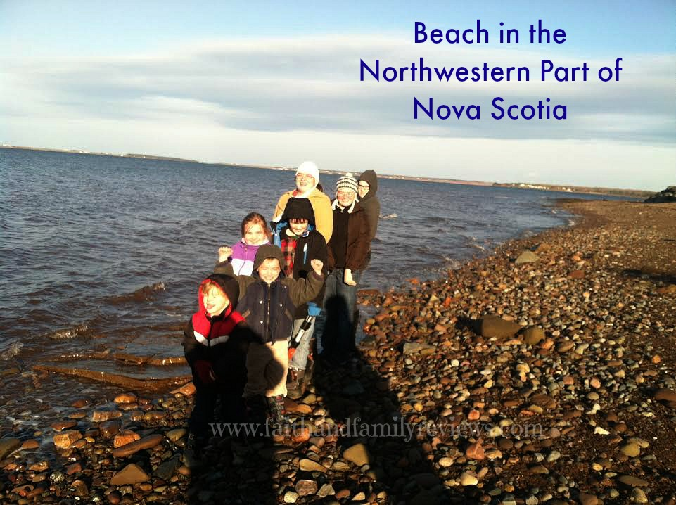 FFR Gould Children at the Beach in NS 2014