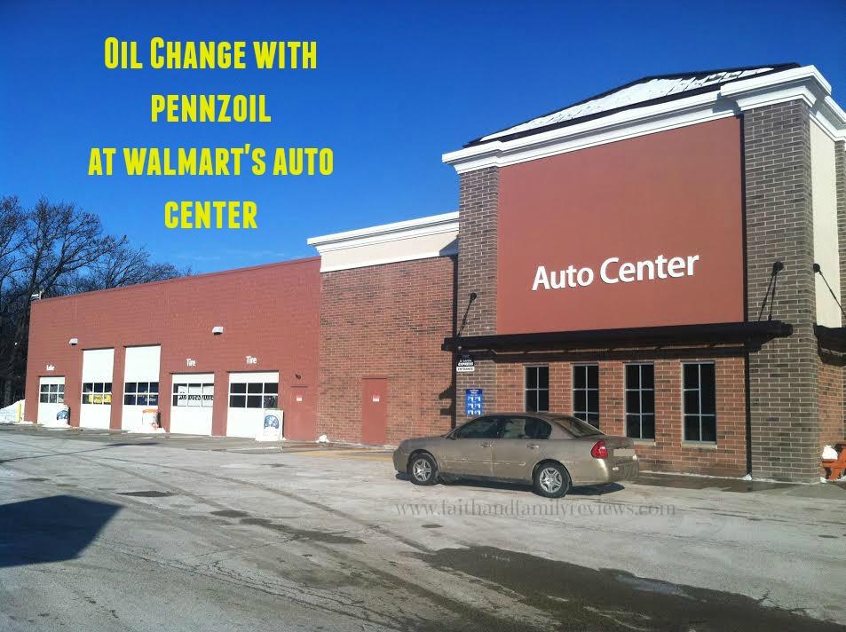 FFR Pennzoil Walmart Auto Center